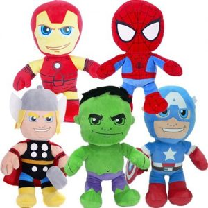 10-MARVEL-PLUSH-SOFT-CUDDLY-TOY-GIFT-SUPERHERO-COZY-TOYS-XMAS-30CM-CHUNKY-KIDS-0