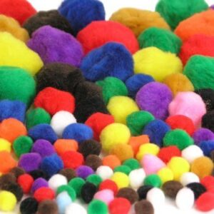 100pk-Fluffy-Pom-Poms-0
