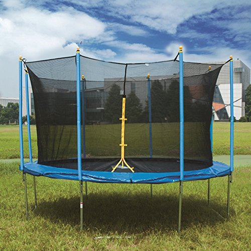 10FT-12FT-14FT-Rocket-Bunny-Sports-Trampoline-With-Safety-Net-Enclosure-for-Kids-and-Adults-0