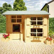 10x8-Mad-Dash-Annex-Log-Cabin-19mm-Wooden-Playhouse-0-0