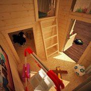 10x8-Mad-Dash-Annex-Log-Cabin-19mm-Wooden-Playhouse-0-2