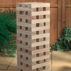 12M-Giant-Wooden-Tumbling-Tower-60-Solid-Pieces-Outdoor-Garden-Family-Fun-0