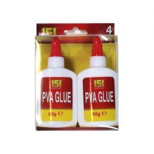 151-Products-4-X-151-Adhesives-Pva-Glue--Non-Toxic-Paper--Card--Fabric--Art-Craft-0