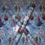 2-x-5-METRE-ROLLS-10-METRES-DISNEY-FROZEN-WRAPPING-PAPER-ANNA-OLAF-ELSA-PARTY-GIFT-WRAP-FREE-DELIVERY-0-0