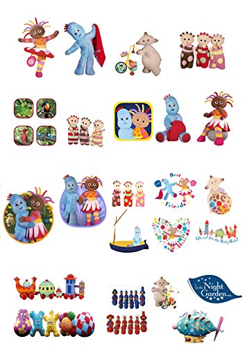 37-Stand-Up-In-The-Night-Garden-Characters-Edible-Premium-Wafer-Paper-Cake-Toppers-0