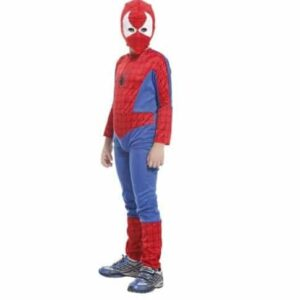 3pcs-Boys-Spiderman-Fancy-Dress-Kids-Outfit-Halloween-Costume-Superhero-Cosplay-0