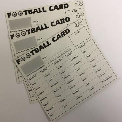 Football Scratch Cards