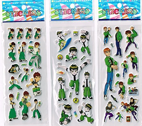 6-x-Sticker-Sheets-Ideal-for-Party-Bags-Plants-Vs-Zombies-Angry-Birds-Ben-10-Smurfs-Spiderman-Disney-Princess-Frozen-Stickers-Elsa-Stickers-0