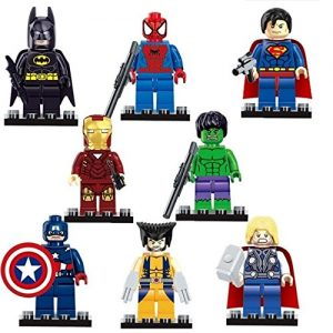 8-Pcs-SUPER-HEROES-MINI-FIGURES-FULL-SET-OF-8-MINI-ACTION-FIGURES-BUILDING-TOY-GIFT-SUPERMAN-CAPTAIN-AMERICA-WOLVERINE-BATMAN-IRONMAN-THOR-HULK-SPIDERMAN-0