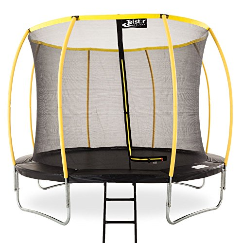 8ft-Telstar-Orbit-Trampoline-And-Safety-Enclosure-With-FREE-Ladder-0