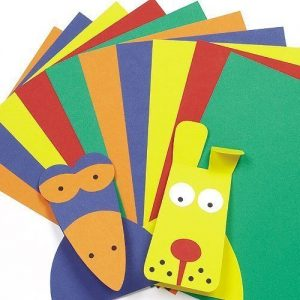 A4-Card-Value-Pack-Kids-Art-Craft-Activities-Collage-5-Assorted-Colours220gsm-Pack-of-50-0