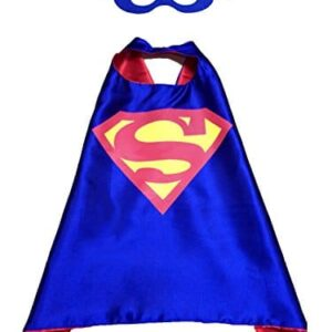 AMESON-Superhero-or-Princess-Cape-Mask-Set-Kids-Childrens-Halloween-Costume-0