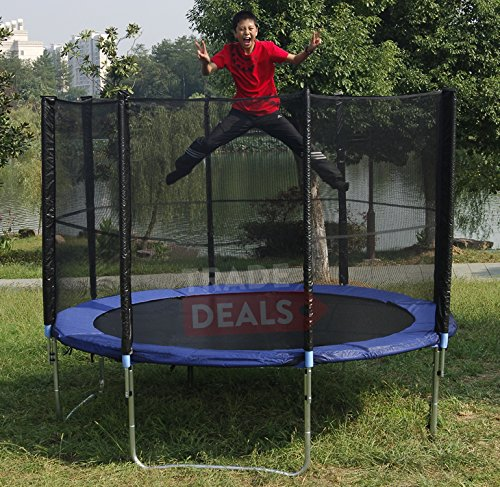 New Heavy Duty Trampoline 14 Ft With Ladder Safety Net: ActivePlus ® XL Extra-Large 14FT 14 FT Foot Trampoline