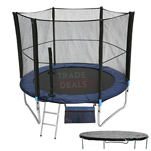 ActivePlus--6810121416-FT-Foot-Trampoline-With-FREE-Safety-Net-Enclosure-Ladder-Rain-Cover-Shoe-Bag-0