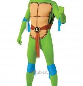 Adults-Rubies-New-Leonardo-TMNT-Teenage-Mutant-Ninja-Turtles-2nd-Skin-Fancy-Dress-Costume-0