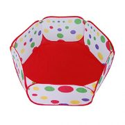 Amison-Cute-Pop-up-Hexagon-Polka-Dot-Children-Ball-Play-Pool-Tent-Carry-Tote-Toy-Without-Balls-0-2