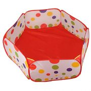 Amison-Cute-Pop-up-Hexagon-Polka-Dot-Children-Ball-Play-Pool-Tent-Carry-Tote-Toy-Without-Balls-0-3