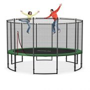 Ampel-24-16-ft-garden-trampoline-blue-or-green-with-safety-net-jumping-mat-120-springs-TV-and-GS-certified-0-0