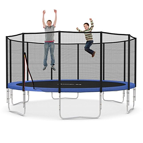 Ampel 24 16 Ft Garden Trampoline Blue Or Green With