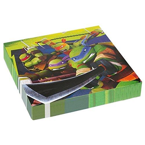 Amscan-33cm-Teenage-Mutant-Ninja-Turtles-20-Luncheon-Napkins-0