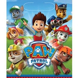 Amscan-999137-Paw-Patrol-Plastic-Party-Bags-0