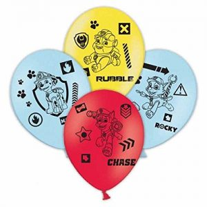 Amscan-999945-11-Inch-Paw-Patrol-4-Sided-Latex-Balloons-0