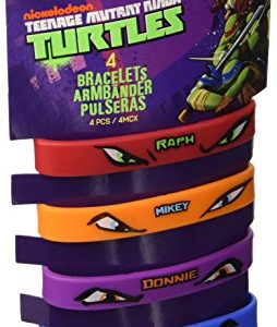 Amscan-Teenage-Mutant-Ninja-Turtles-4-Rubber-Bracelets-0
