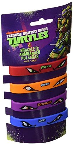 Amscan-Teenage-Mutant-Ninja-Turtles-4-Rubber-Bracelets-0