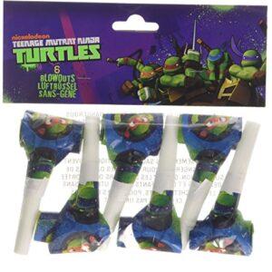 Amscan-Teenage-Mutant-Ninja-Turtles-6-Blowouts-0
