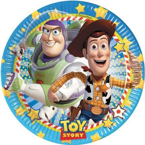 Amscan-Tstory-Star-Pow-Paper-Plates-Party-Accessory-0