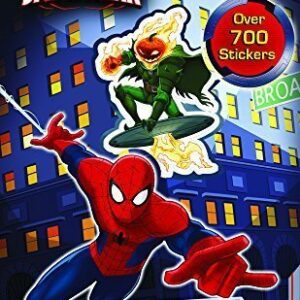 Anker-Marvel-Ultimate-Spider-Man-700-Assorted-Stickers-Pack-0