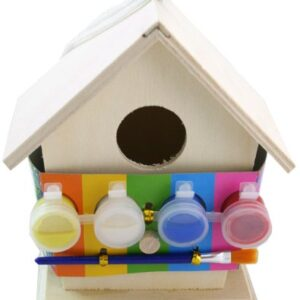 Art-And-Craft-Paint-Your-Own-Wooden-Bird-House-0