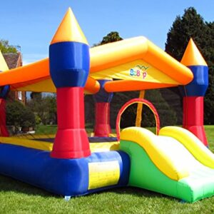 BeBop-Canopy-Bouncy-Castle-and-Slide-with-Electric-Fan-FREE-Safety-Mat-0