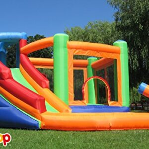 BeBop-Spin-Combo-Bouncy-Castle-With-Water-Cannons-0