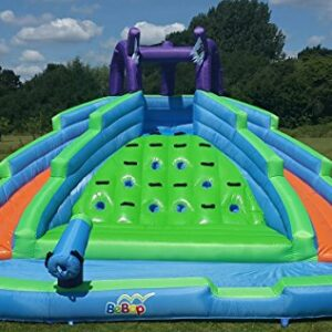 BeBop-Twin-Peaks-Inflatable-Water-Slide-Bouncy-Castle-100-FREE-Playballs-0