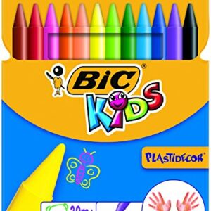 BiC-Kids-Plastidecor-Colouring-Crayons-Pack-of-12ParentSPIG9-0