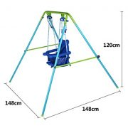 Blue-Folding-Swing-Outdoor-Indoor-Swing-Toddler-Garden-Baby-Swing-Nursery-Swing-with-safety-seat-for-babychirldrens-Gift-0-1