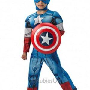 Boys-Captain-America-Avengers-Muscle-Fancy-Dress-Costume-Plus-Shield-Sizes-S-M-L-0