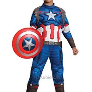 Captain-America-Shield-Boys-Fancy-Dress-Avengers-Age-of-Ultron-Superhero-Childs-Kids-Costume-Outfit-0