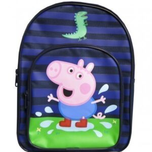 Character-Peppa-Pig-George-Dino-Puddle-Blue-Backpack-0