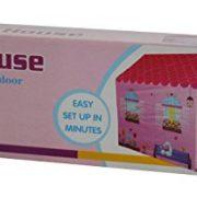 Charles-Bentley-Kids-Childrens-Pink-Girls-Playhouse-Wendy-House-Indoor-Outdoor-Play-Tent-0-0