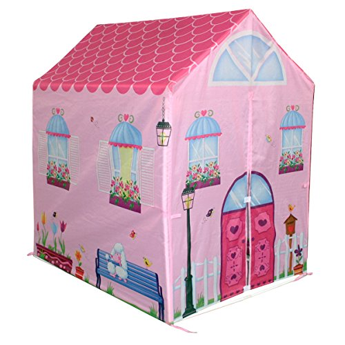 Charles-Bentley-Kids-Childrens-Pink-Girls-Playhouse-Wendy-House-Indoor-Outdoor-Play-Tent-0