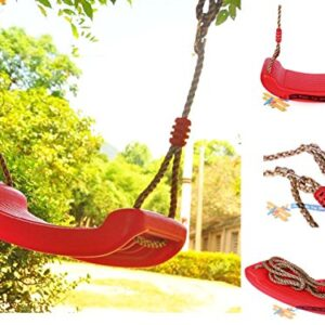 Child-Garden-Outdoor-Plastic-Swings-Seat-Garden-Tree-Swing-With-Hanging-Rope-0
