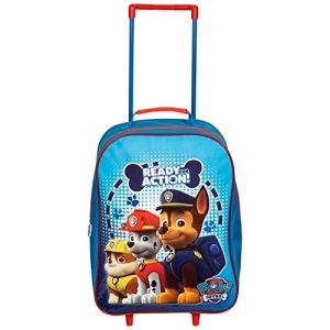 Children-Kids-Boys-Paw-Patrol-Marshall-Rubble-Chase-Travel-Outdoor-Fun-School-Trolley-Bag-0