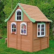 Children-Wooden-Playhouse-a-Unique-Play-House-in-a-cute-country-style-on-Sale-Our-garden-farm-outdoor-log-cabin-from-Cedar-Childrens-Welcome-Home-Playhouses-comes-with-wood-cover-roof-front-dormer-and-0-6