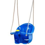 Childrens-Childs-Toddler-Adjustable-Outdoor-Garden-Rope-Safety-Safe-Swing-Seat-0-2
