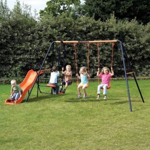 Childrens-Garden-Swing-and-Slide-Set-Headstrom-Europa-Outdoor-Swing-0