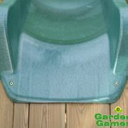 Childrens-Heavy-Duty-Green-Wavy-Water-Slide-3m-for-15m-Climbing-Frame-or-Tree-House-Platform-0-0