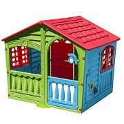 Childrens-Indoor-Outdoor-Summer-Garden-House-Of-Fun-Kids-Happy-Playhouse-0-0