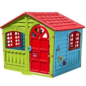 Childrens-Indoor-Outdoor-Summer-Garden-House-Of-Fun-Kids-Happy-Playhouse-0